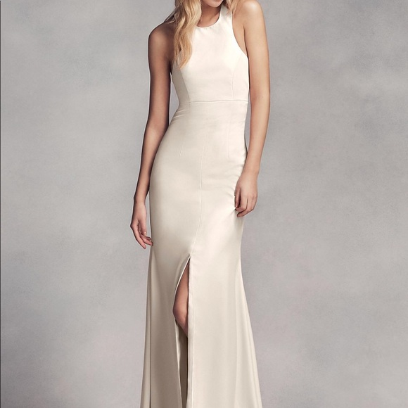 ad7f8e18e66 Vera Wang Ivory bridesmaid dress NWT size 16